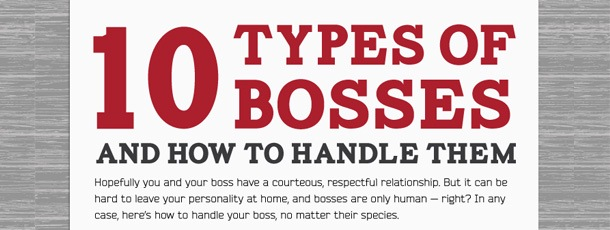 10 Types of Bosses and How to Handle Them