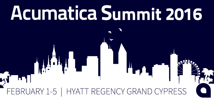 Acumatica Summit 2016: Why Customers, Partners and Fellow Cloud Innovators Need to Attend