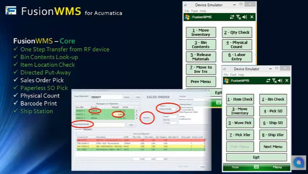 Fusion Software for Acumatica Overview