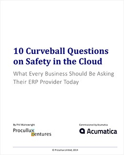 10 Curveball Questions on Safety in the Cloud