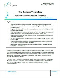 The Business-Technology Connection for SMBs
