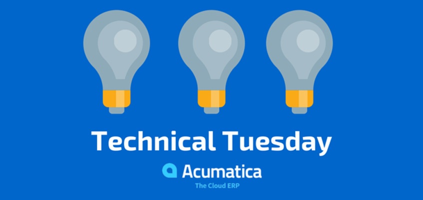 Acumatica's Technical Tuesday