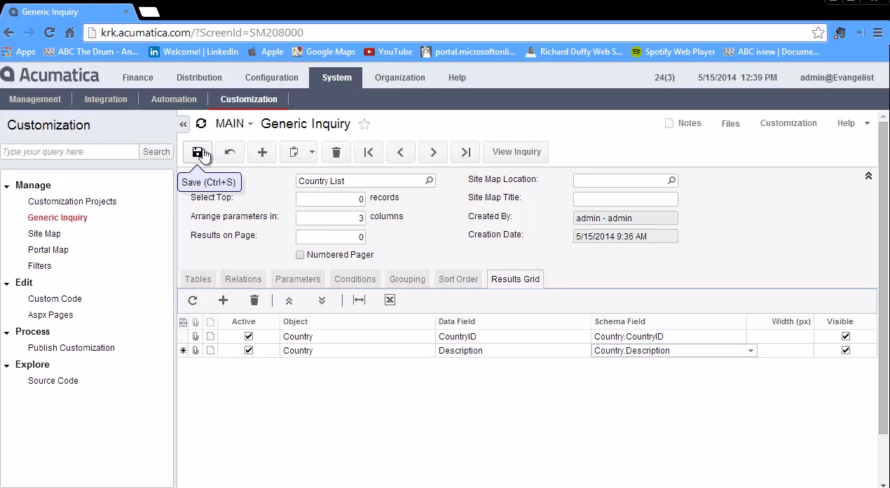 Tech Tips: Building Generic Inquiries With Acumatica