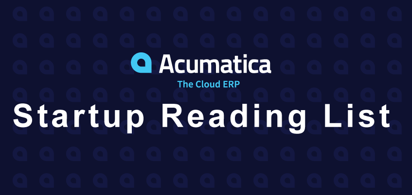 The Definitive Startup Reading List