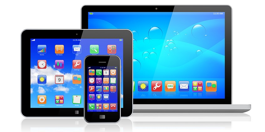 Mobile-first tablets and phones