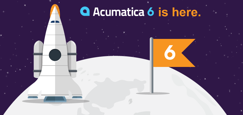 The best cloud ERP available - Acumatica 6 is Here