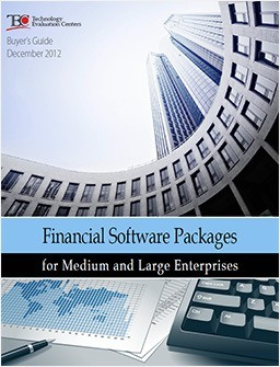 Financial Software Packages for Medium and Large Enterprises Buyers Guide