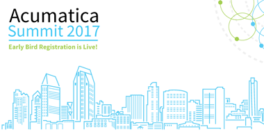 Acumatica Summit 2017 Early Bird Registration is Live! It's official, we're headed to sunny San Diego for a week of networking, learning and fun!