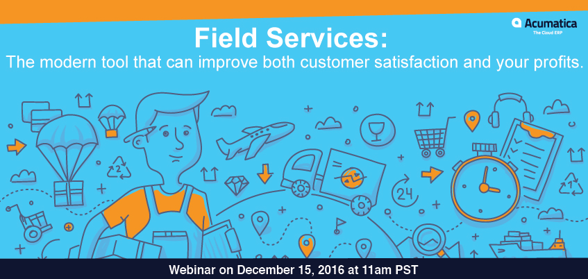 Learn How To Optimize Your Business at this Free Webinar About Acumatica Field Services Management