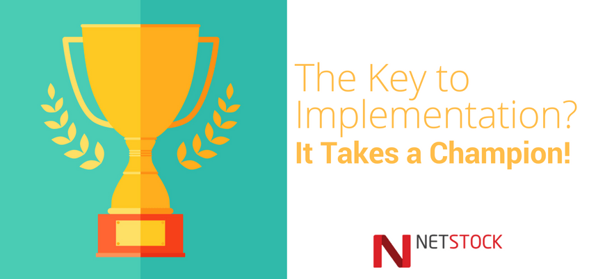 The Key to ERP Implementation? It Takes A Champion!