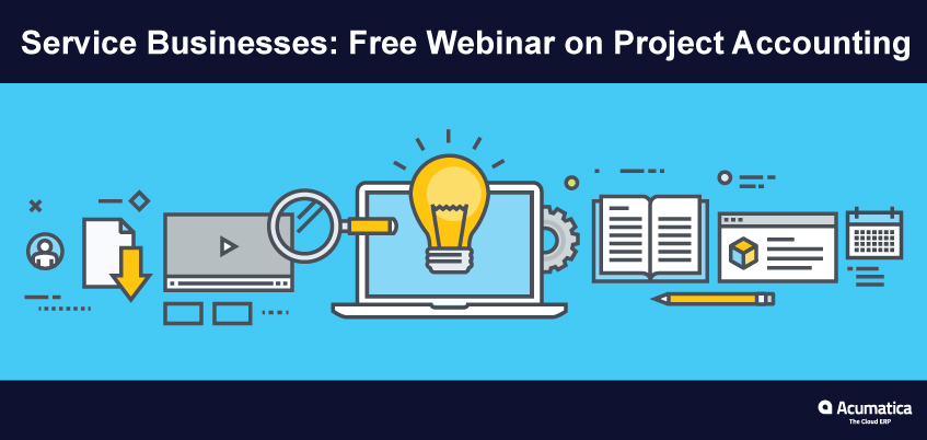 Services Businesses: Free Webinar on Project Accounting