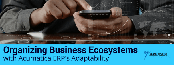 Organizing Business Ecosystems with Acumatica ERP's Adaptability