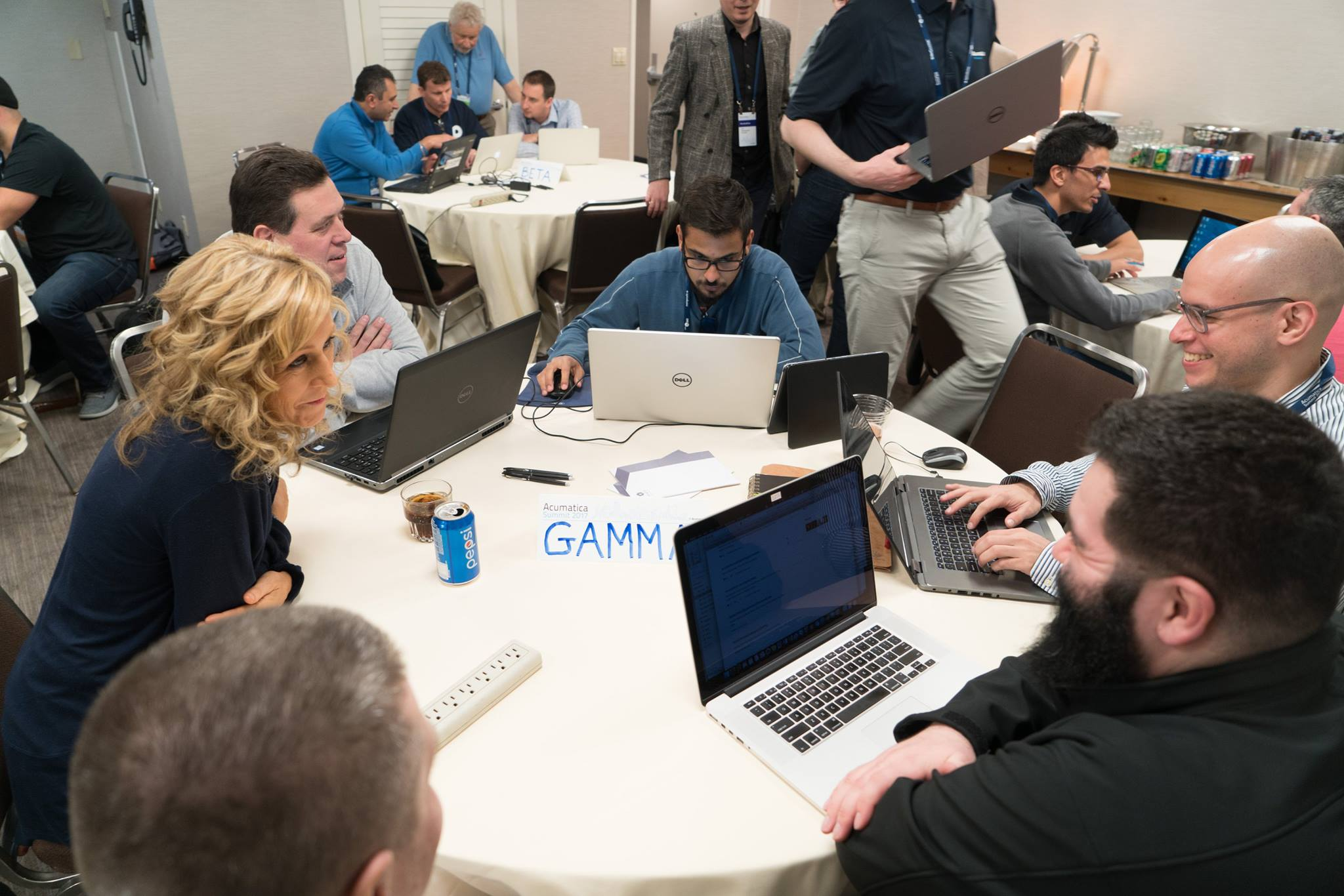 GAMMA team members at the Acumatica Hack-a-thon