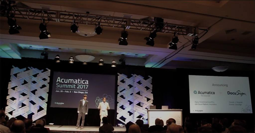 Announcement of Acumatica and DocuSign Integration