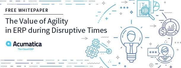 Free Whitepaper: The Value of Agility in ERP During Disruptive Times
