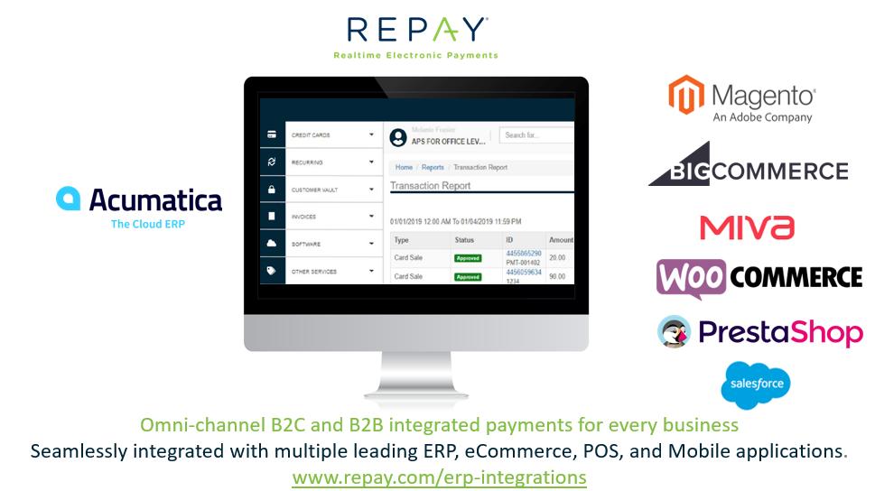 Acumatica REPAY Omni-Channel Integration Overview