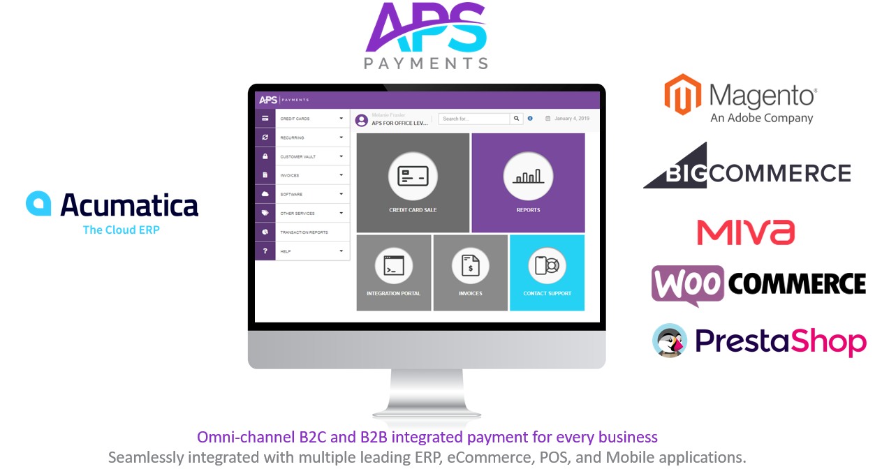 Acumatica Omni-Channel eCommerce Integrated Payments