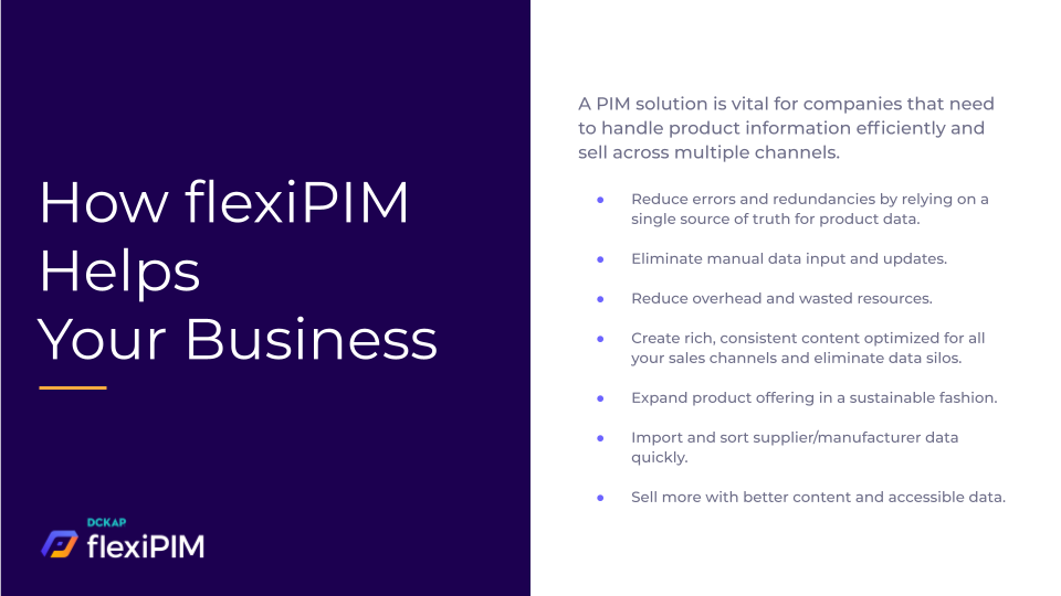 How flexiPIM Helps Your Business