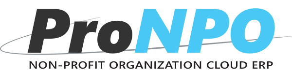 - ProNPO Non-Profit Management Software