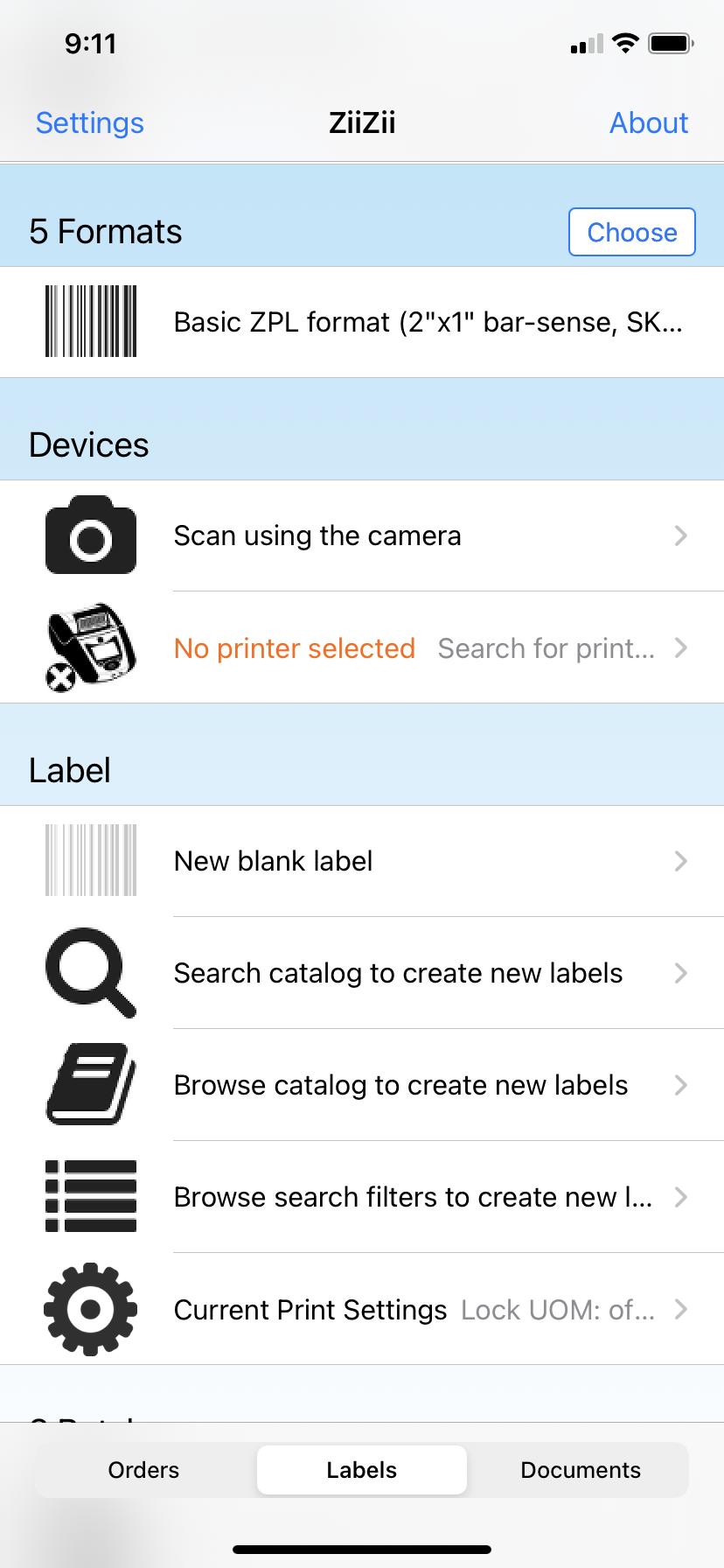 ZiiZii Label Printing