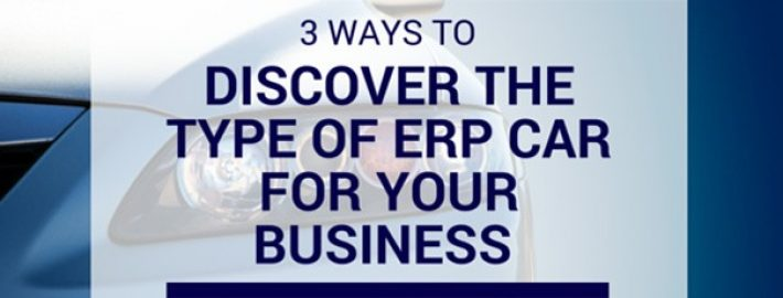 3 Ways to Discover the Type of ERP Car for Your Business