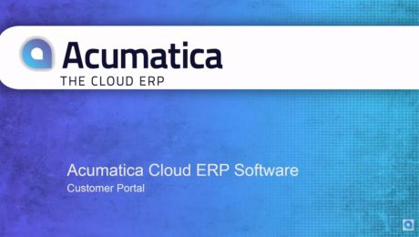 Acumatica Customer Portal Overview