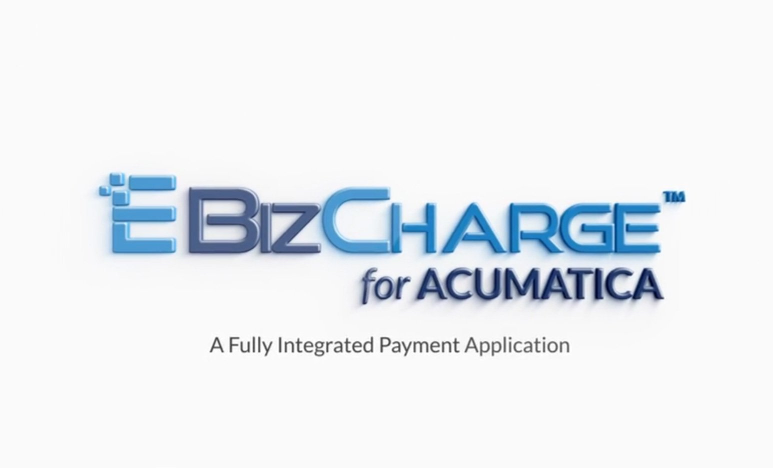 eBizCharge for Acumatica Payment Gateway Overview