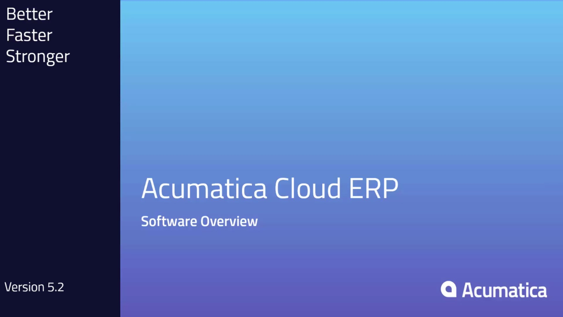 Comprehensive overview of Acumatica Cloud ERP