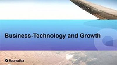 Business Technology and Growth Performances Webinar