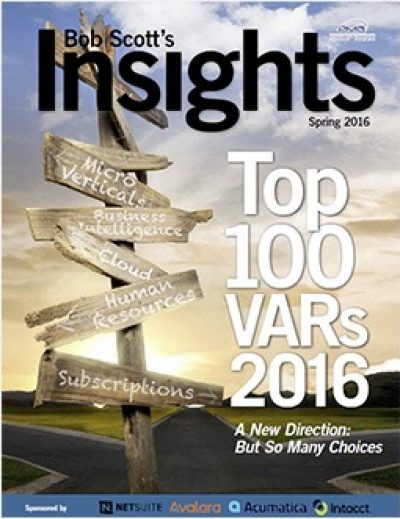 Bob Scott's Insights Top 100 VARs 2016