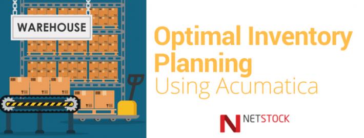 Optimal Inventory Planning Using Acumatica