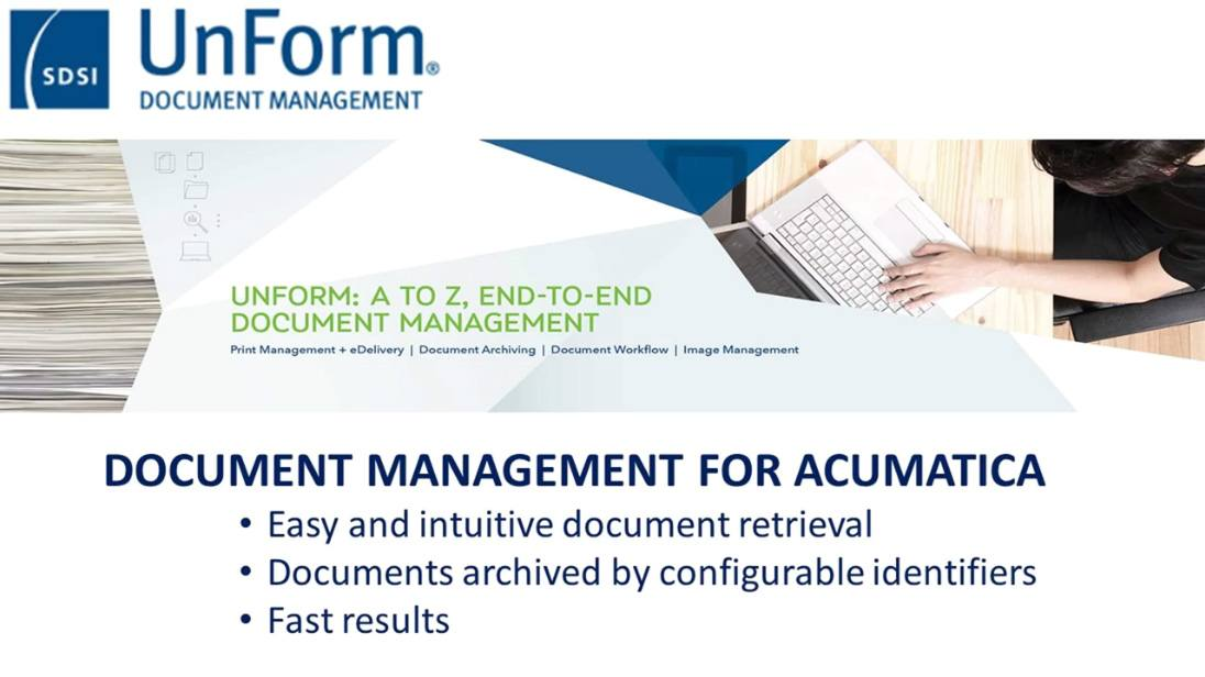 Document Management for Acumatica