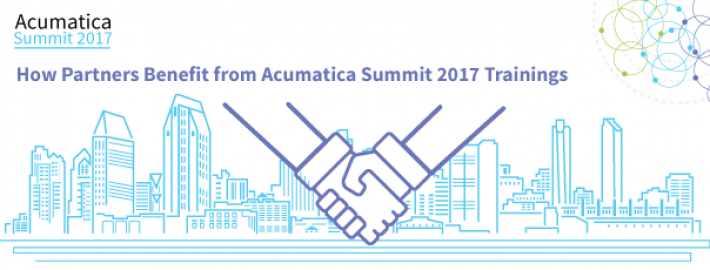 How Partners Benefit from Acumatica Summit 2017 Trainings