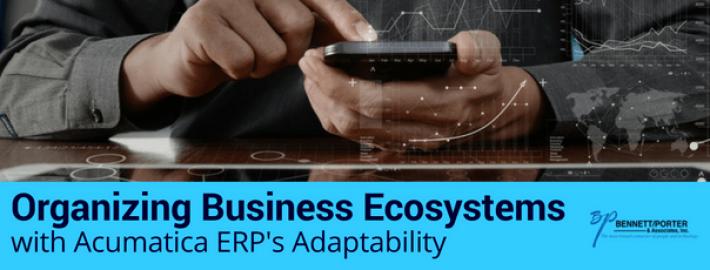 Organizing Business Ecosystems with Acumatica ERP's Adaptability