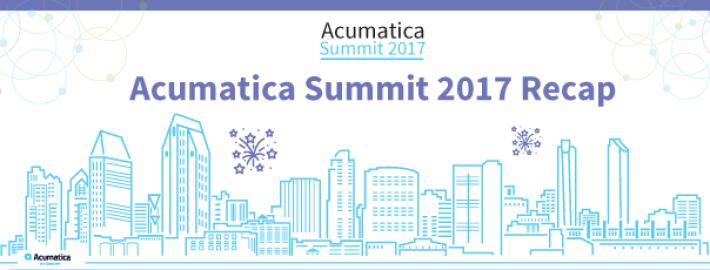 Acumatica Summit 2017 Recap