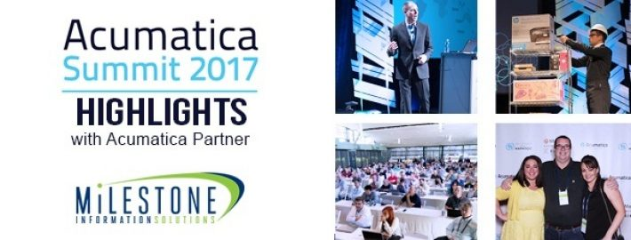 Acumatica Partner Milestone: Acumatica Summit 2017 Highlights
