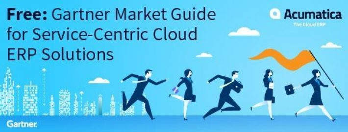 Free: Gartner Market Guide for Service-Centric Cloud ERP Solutions