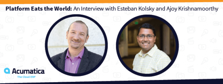 Platform Eats the World: An Interview with Esteban Kolsky and Ajoy Krishnamoorthy