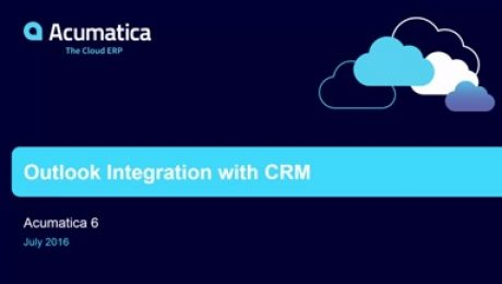 Acumatica 6: Outlook Integration