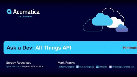 Ask a Dev: All Things API