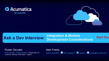Ask a Dev Interview: Integration & Module Development Considerations (Part 3)