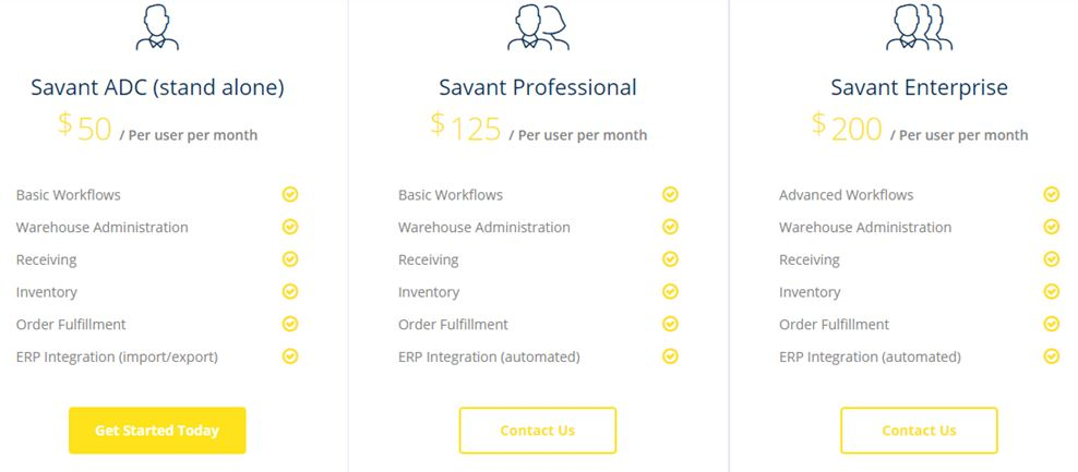 Savant Pricing