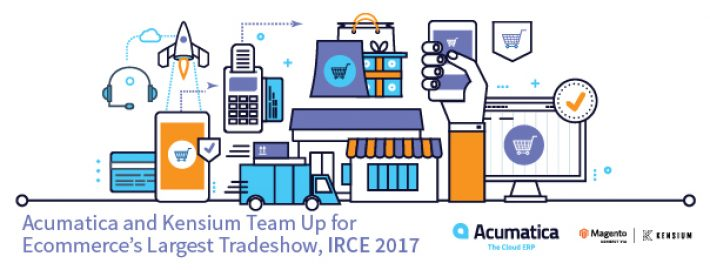 Acumatica and Kensium Team Up for Ecommerce's Largest Tradeshow, IRCE 2017