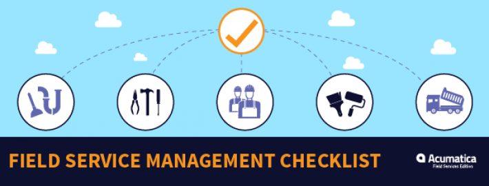 Field Service Businesses: Free Field Service Management Checklist