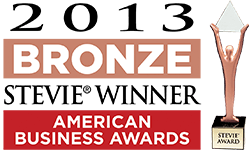 American Business Awards 2013 —  Bronze Stevie® Support Award