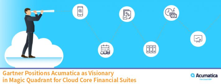 Gartner Positions Acumatica as Visionary in Magic Quadrant for Cloud Core Financial Suites