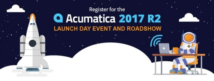 Register for the Acumatica 2017 R2 Launch Day Event and Roadshow