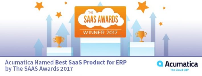 Acumatica Named Best SaaS Product for ERP 2017
