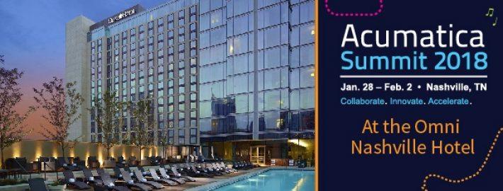 Acumatica Summit 2018 at the Omni Nashville Hotel