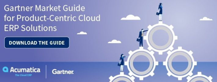 Free: Gartner Market Guide for Product-Centric Cloud ERP Solutions